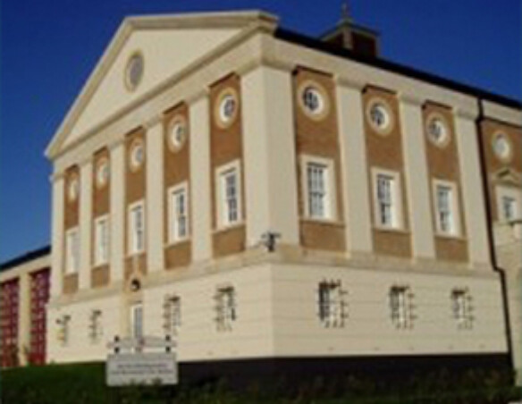 Poundbury Fire Station